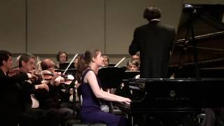 Grieg Piano Concerto in A minor, Op. 16 - Jennifer Nicole Campbell, piano