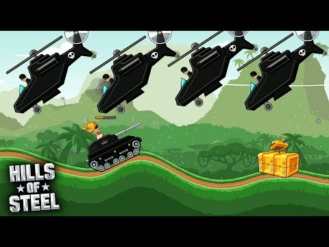 Hills Of Steel - Jungle Patrol CRAZY BOSSES VIP Game For Kids Android  Gameplay