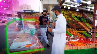 Delicious Taif Street Food & Iftar in Amazing Garden - Taif Saudi Arabia - Street Food Ramadan 2021