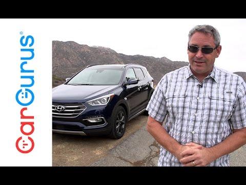 2017 Hyundai Santa Fe Sport | CarGurus Test Drive Review