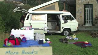 A time-lapse sequence showing packing our van. The footage was shot...