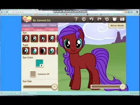 pony creator 3 c удалённой причёской