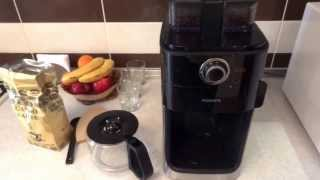 Обзор кофеварки Philips HD7762 со встроенной кофемолкой. Часть третья.