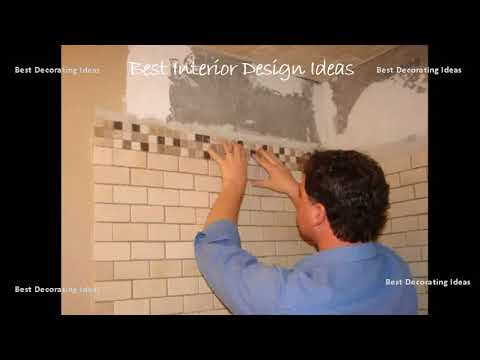 Bathroom border tiles design | Modern House Interior design ideas with inspiration &