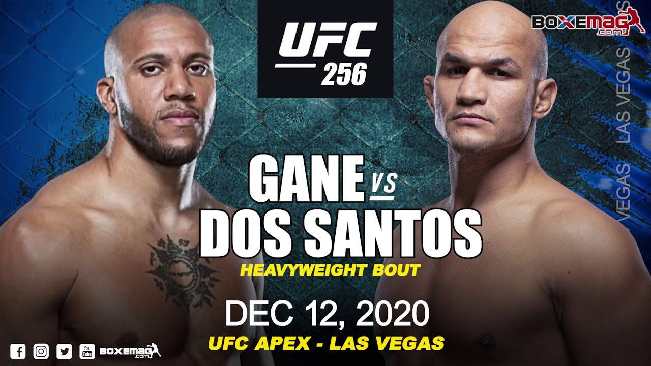 UFC256 - Ciryl Gane vs Junior Dos Santos - Les statistiques du combat -  YouTube