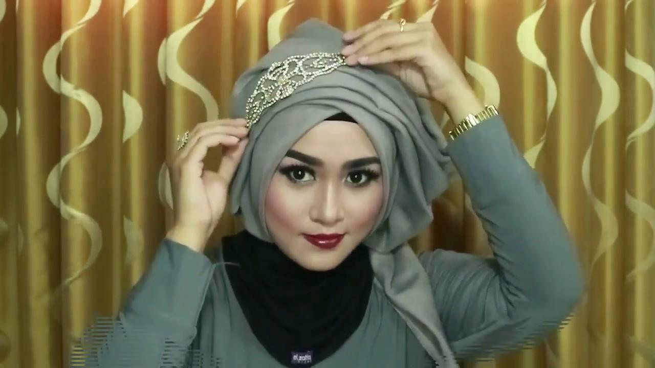 Hijab Wisuda Hijab Pesta Hijab Kondangan Hijab Simple Tanpa Banyak Jarum 1 Youtube