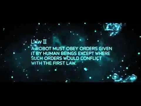 3 laws of robotics - iRobot Movie 2004