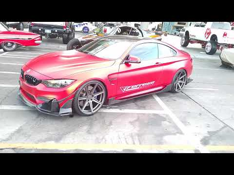 877-544-8473 Ferrada FR Series Bronze Rims BMW M4 M3 M5 Sema Show