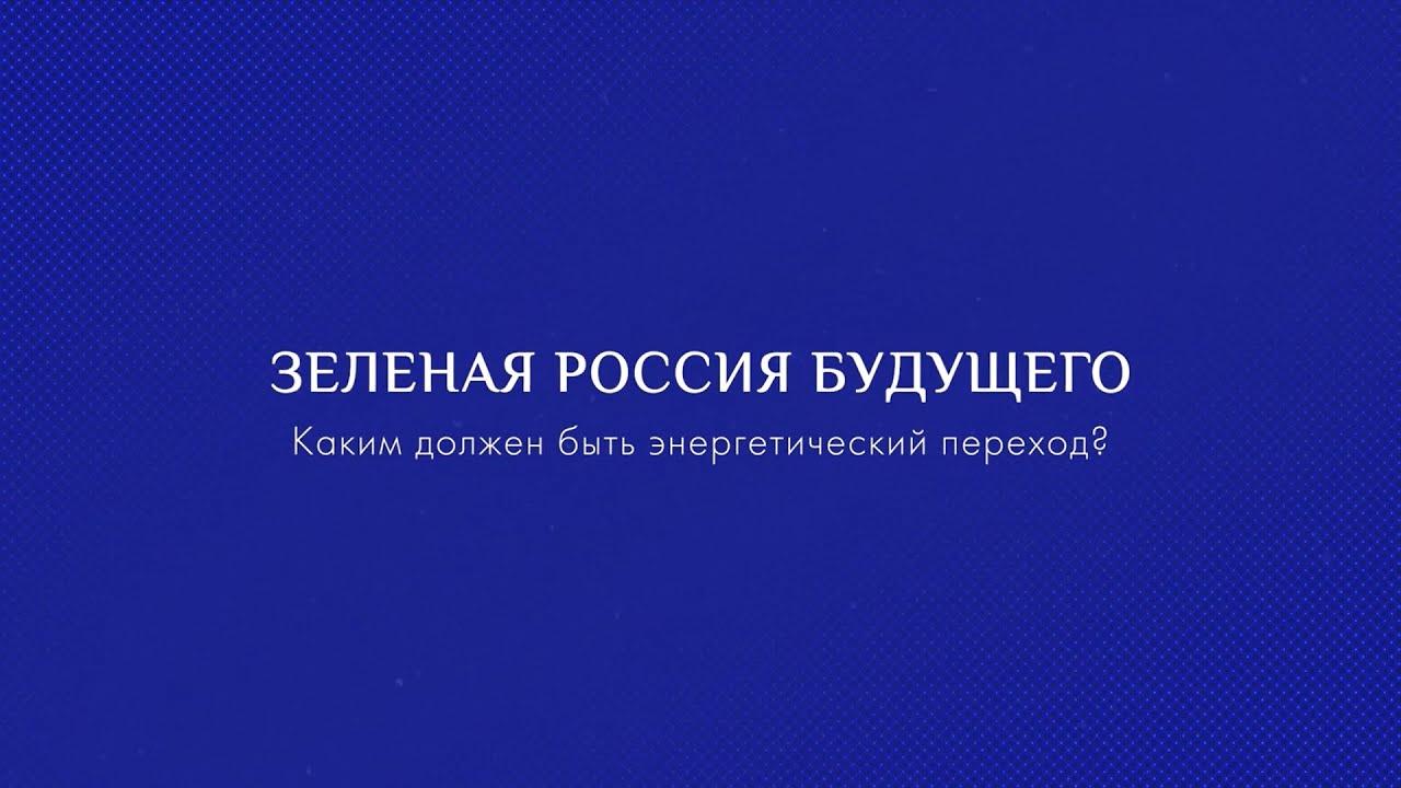 Зелёная Россия будущего: каким должен быть энергетический переход?