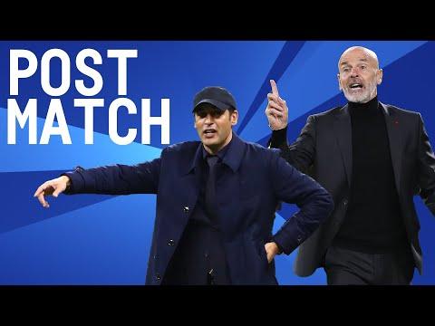 Milan 3-3 Roma   Pioli & Fonseca Post Match Press Conference   Serie A TIM