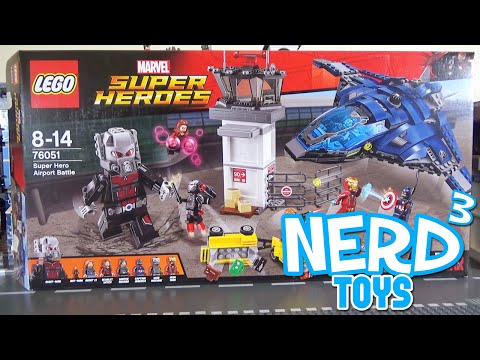 Nerd³'s Lego Tuesdays - 76051 Super Hero Airport Battle