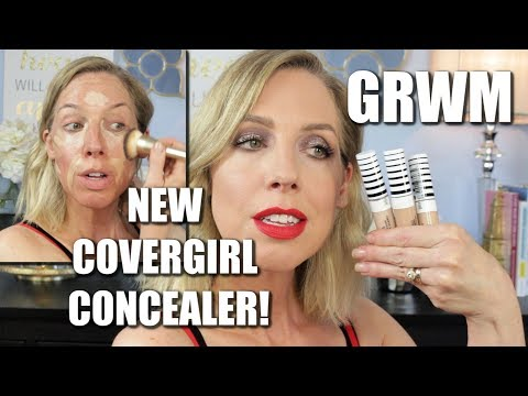 new-covergirl-trublend-concealer--review---full-face-grwm!