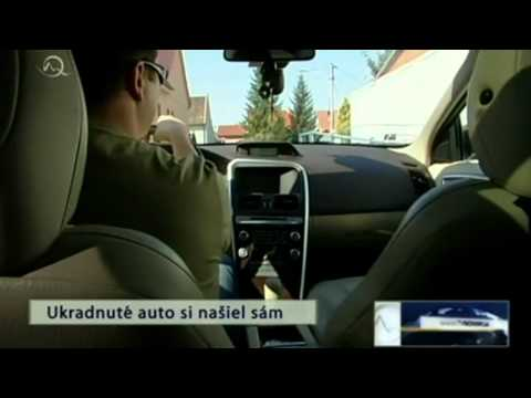Kradez vozidla - GPS Monitoring 2.mp4