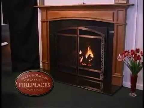 Mendota - Green Mountain Fireplaces of Vermont - YouTube
