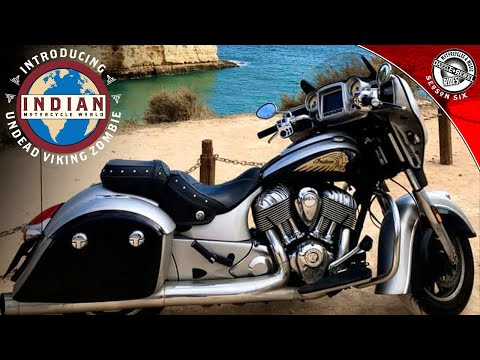 Indian Motorcycle World Introduces Undead Viking Zombie | Moto Vloggin' | S6E4