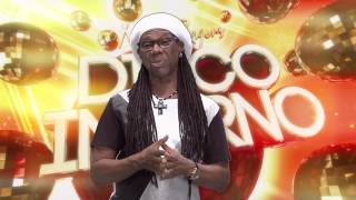 Nile Rodgers Disco Inferno - Twitter Message
