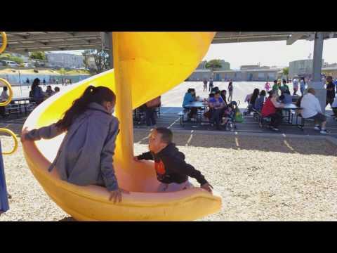 Daly City school play ground 4k