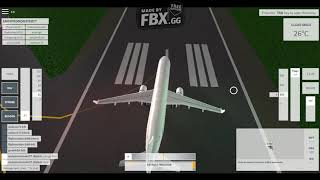 Roblox - Velocity Flight Simulator, TXKF Take off, Mid air. Airbus A321 Unmarked Airline.