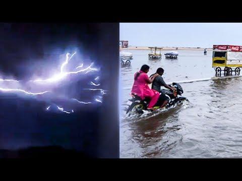 CHENNAI FLOODS 2017: Shocking Footage from Marina Beach! | RK 66