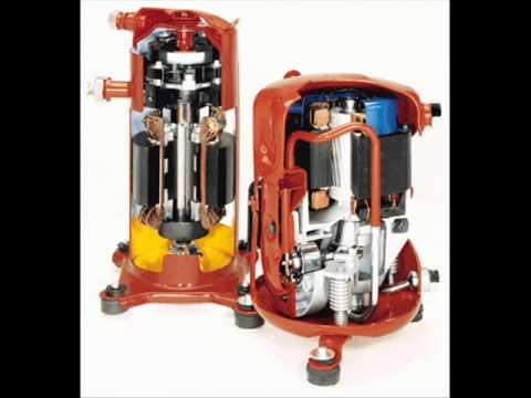 compresor refrigeracion. compresor en los sistemas de refrigeración.wmv refrigeracion
