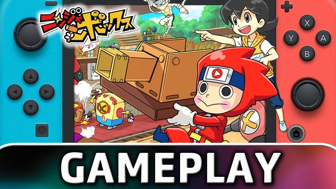Ninja Box | 10 Minutes of Gameplay on Nintendo Switch