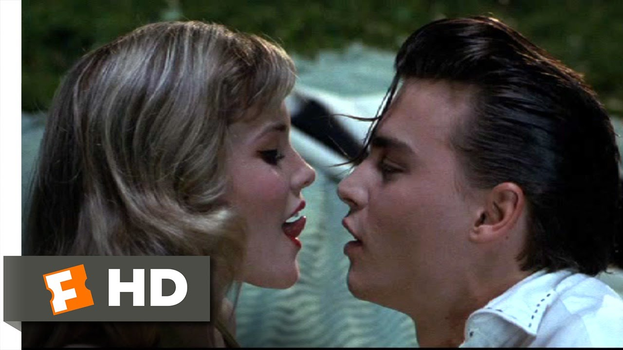 Cry baby 6 10 movie clip how to french kiss 1990 hd for Classic house french kiss