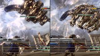 Final Fantasy XIII-2 360/PS3 Frame-Rate Analysis