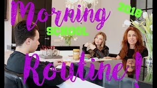 School Morning Routine 2018