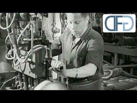 Opel-Werk Rüsselsheim 1958 - Eine historische TV-Reportage (2/5)