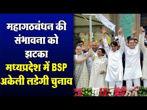 मध्यप्रदेश में BSP लोकसभा का चुनाव अकेले लड़ेंगी, कांग्रेस के साथ राष्ट्रव्यापी महागठबंधन मुश्किल में