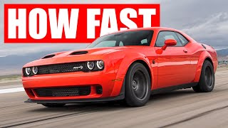 The 2020 Dodge Super Stock VS Demon - What's the difference?