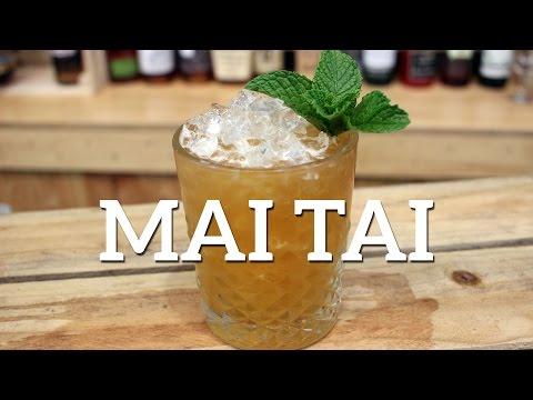 Mai Tai Cocktail Recipe - Trader Vic Version