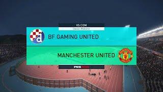 PES 18 Scholes challenge BFG Utd vs Man Utd