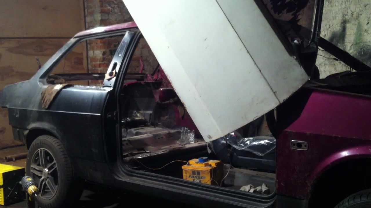 Как сделать ламбо-двери на ВАЗ 2109 своими руками фото и видео