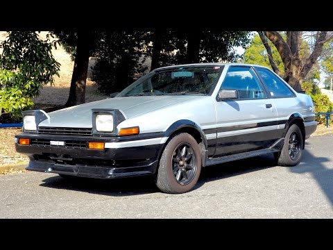 1983 Toyota Sprinter Trueno AE86 (The Netherlands Import) Japan Auction Purchase Review
