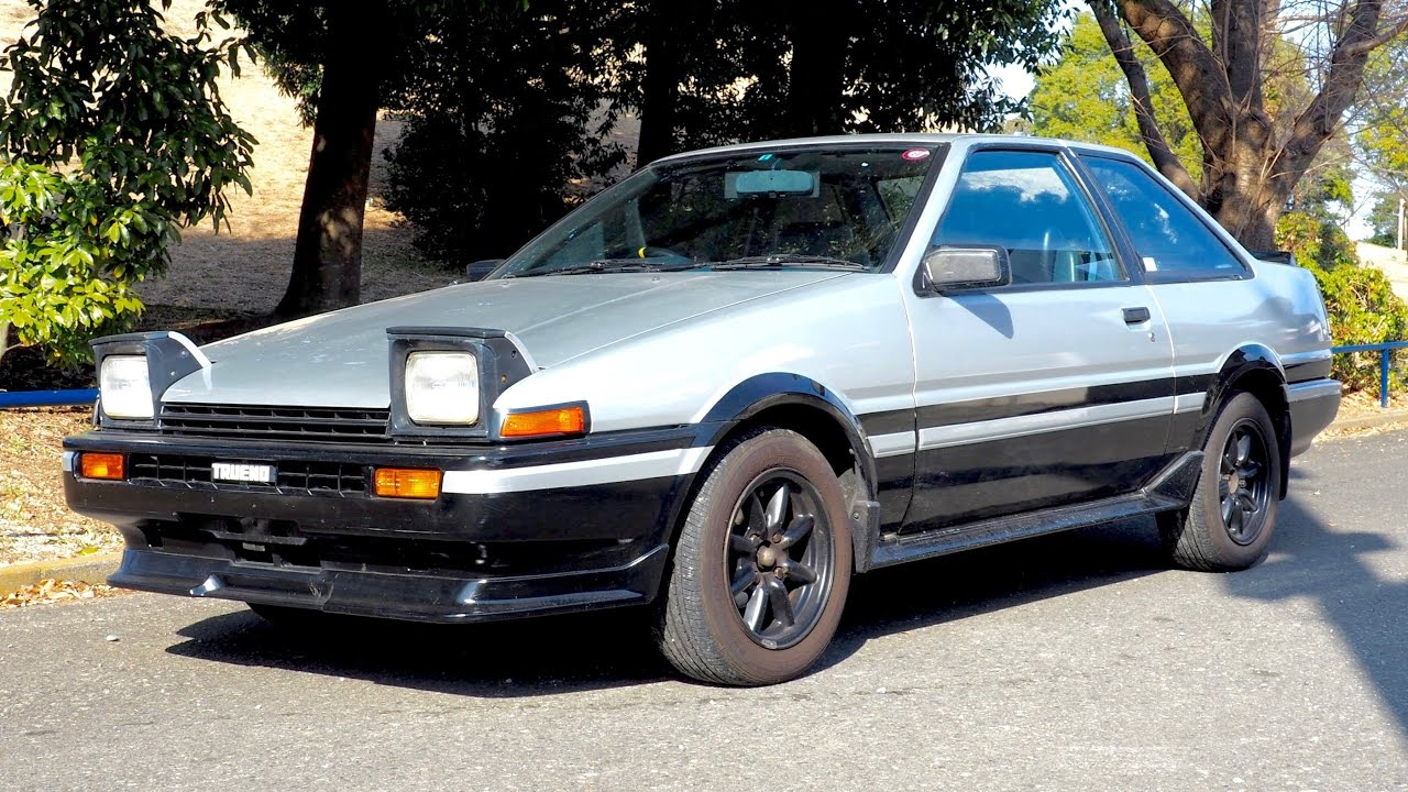 1983 toyota sprinter trueno ae86 the netherlands import