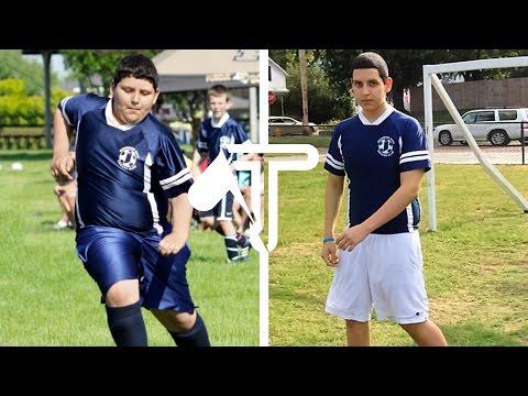 TRANSFORMATION: Teen's ASTOUNDING 100+ Pound Weight Loss