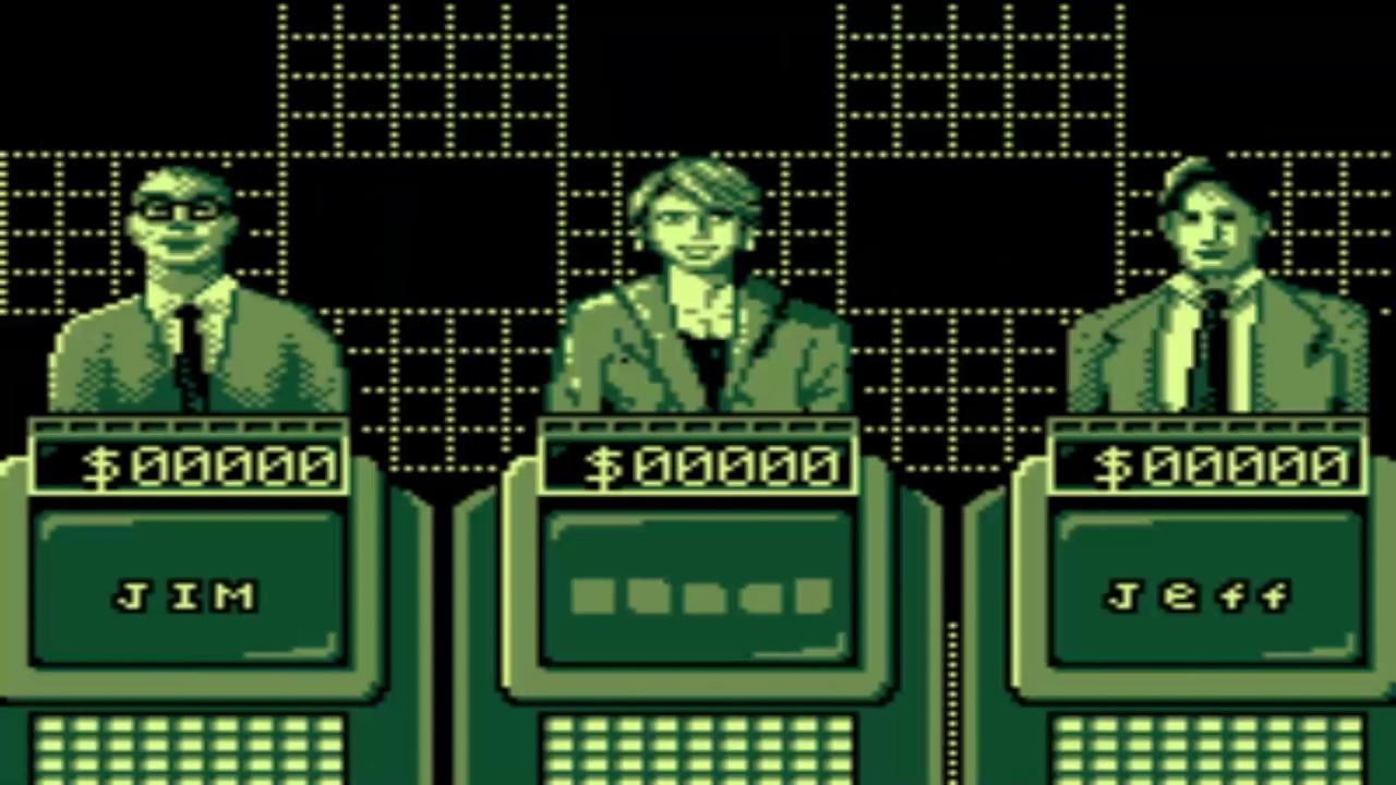 TIGER GAME COM Jeopardy 1997Tiger Electronics Inc bin