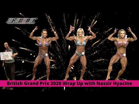 FBBC Wrap up –  2020 British GP Women's Physique