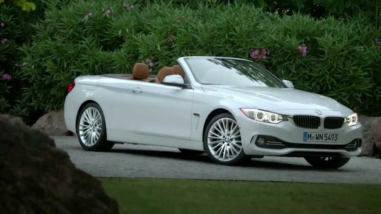 2014 bmw 4er cabrio f33 first video youtube. Black Bedroom Furniture Sets. Home Design Ideas