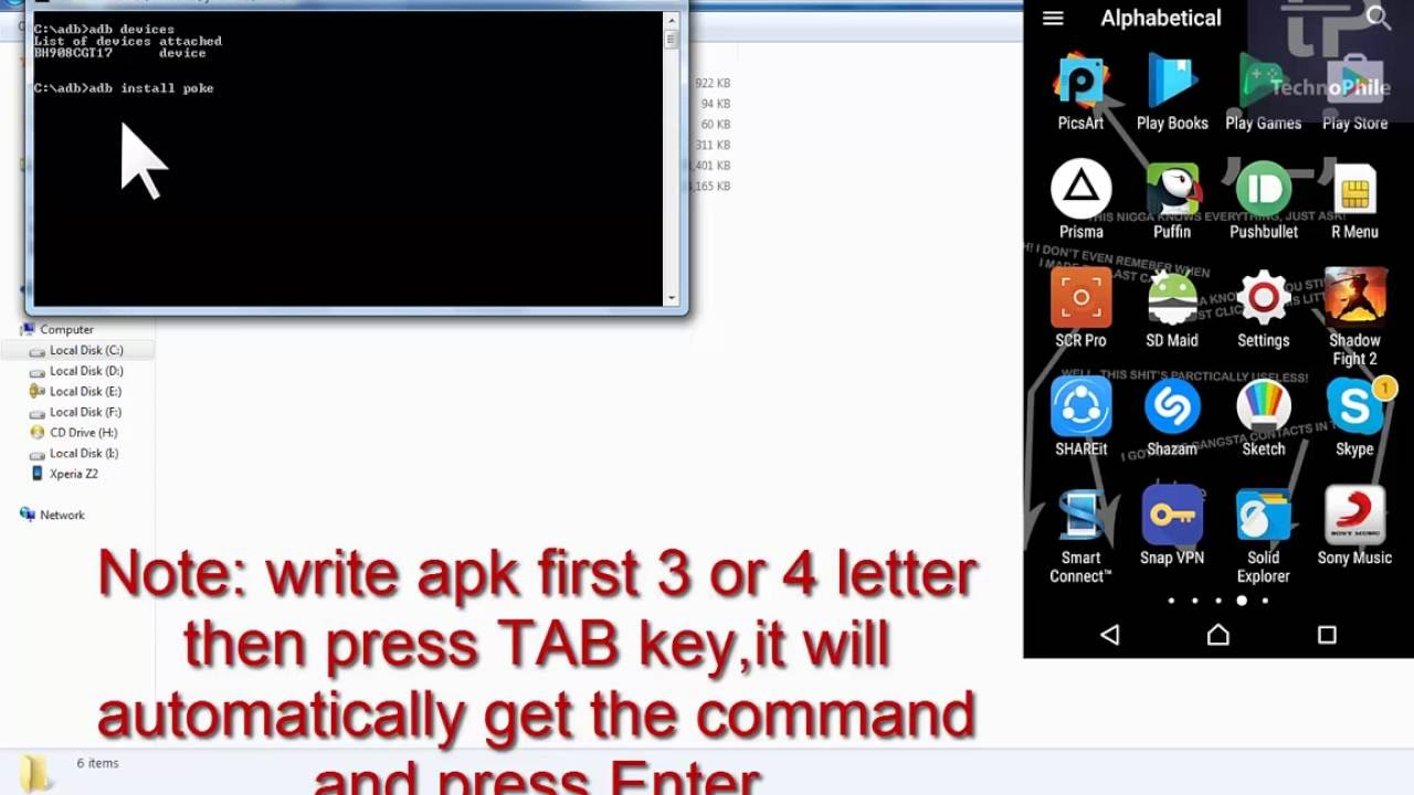 How to force install any apk using adb