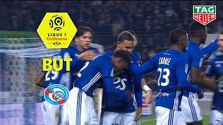 But Lebo MOTHIBA (51') / RC Strasbourg Alsace - Toulouse FC (1-1)  (RCSA-TFC)/ 2018-19