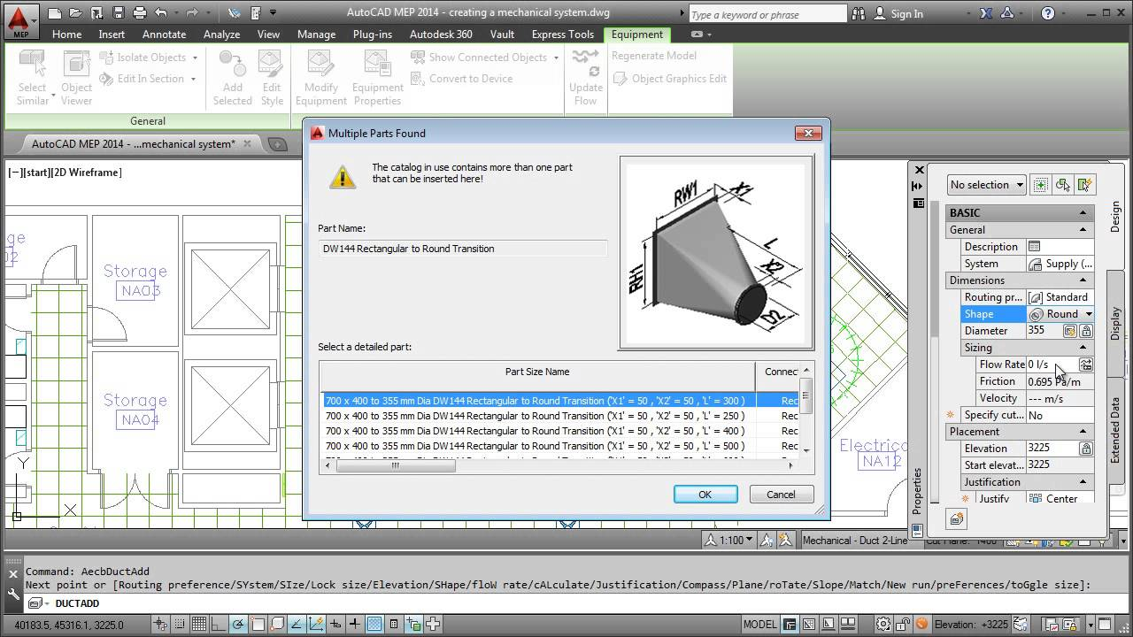 hight resolution of drawing hvac system autocad