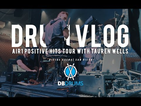 Drum Vlog // Air1 Positive Hits Tour with Tauren Wells // San Diego