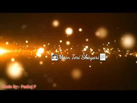 Tu Shayar Hai /what'app Lyrics Video/Pankaj Padvekar