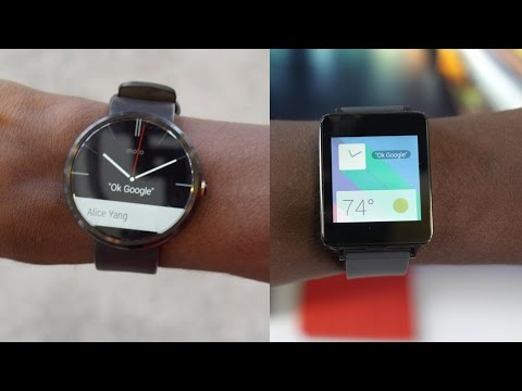 Android Wear Review! (Smartwatches)