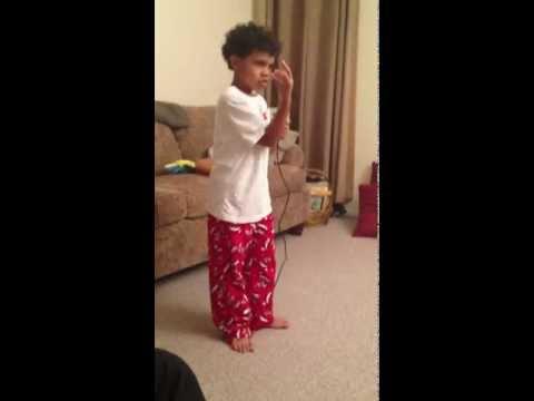 Javien B. does Michael Jackson (I'm Bad)