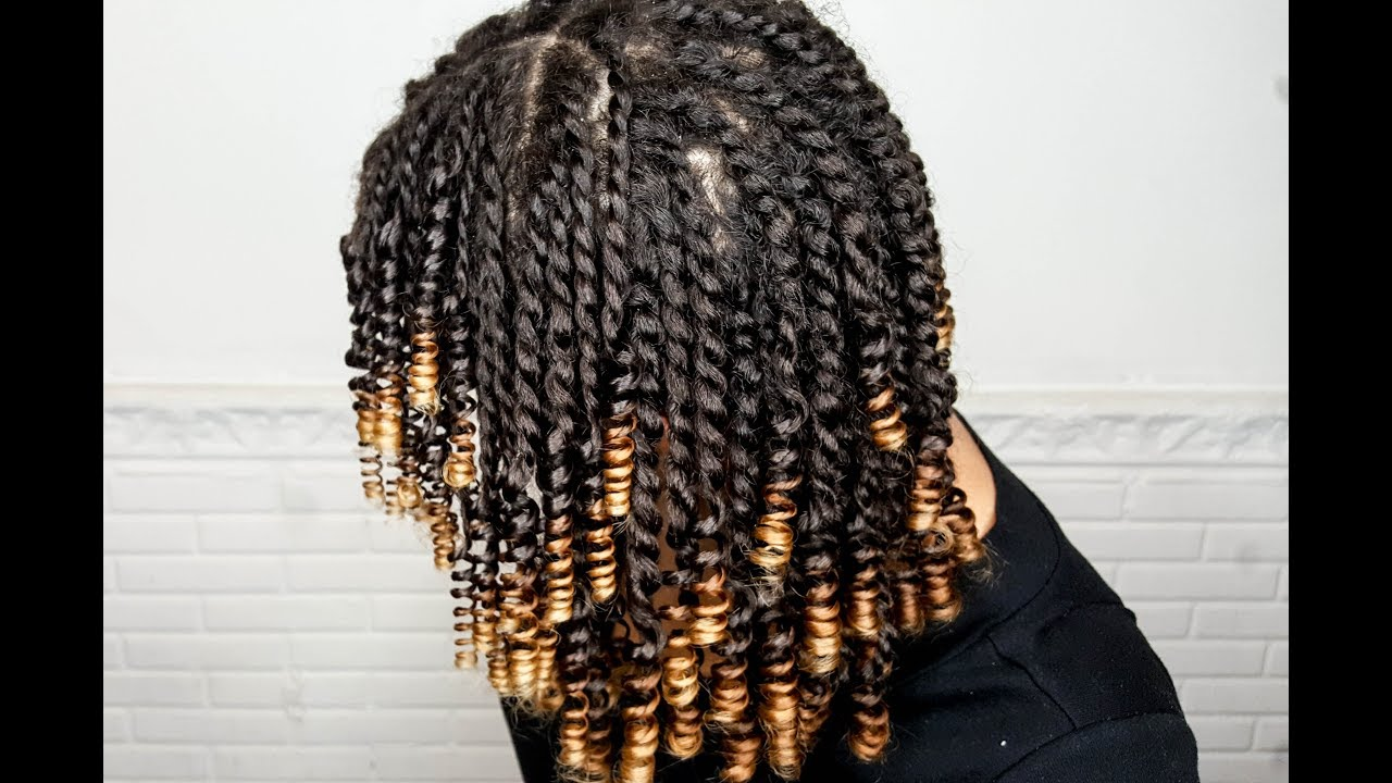 Mini Twist And Curl Quot Straw Set Quot Natural Hair Blueberry