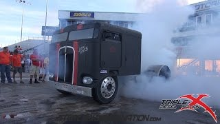 DIESEL WORLD FINALS BURNOUT CONTEST!!