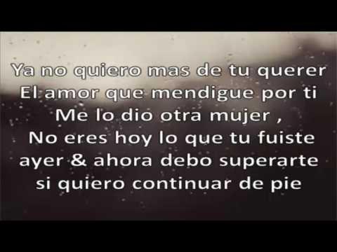 Ya No Mas (Letra) - Micro Tdh
